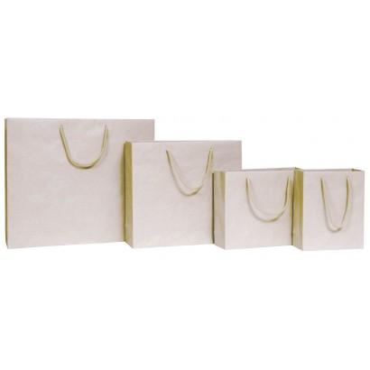 Bolsas de papel modelo NATURAL arboreo asa cordón