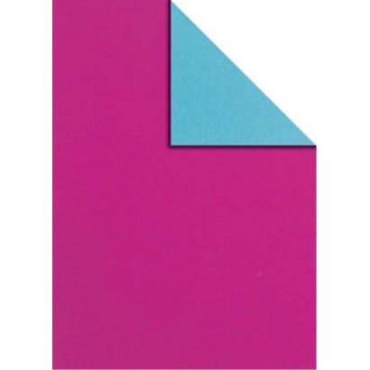 Bobina papel regalo bicolor B846