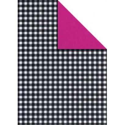 Bobina papel regalo bicolor B863