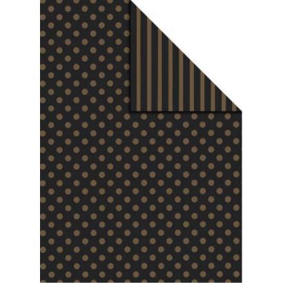 Bobina papel regalo bicolor B874
