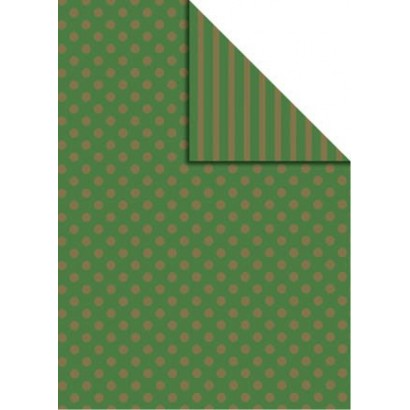 Bobina papel regalo bicolor B877