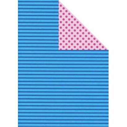 Bobina papel regalo bicolor B881