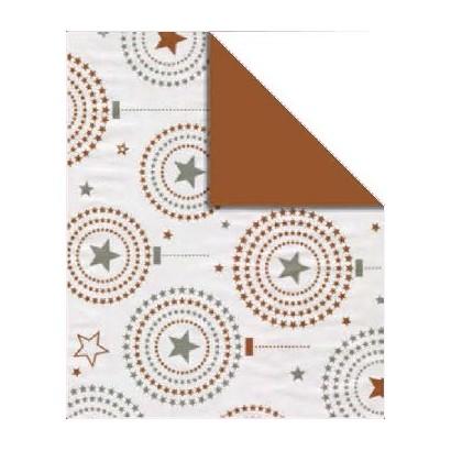 Bobina papel regalo bicolor B902
