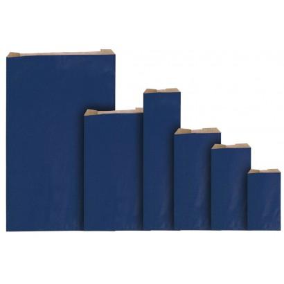 Sobres de papel eco azul con fuelle