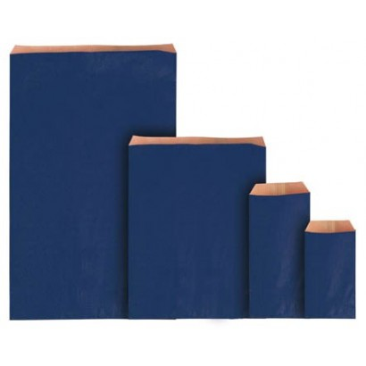 Sobres de papel eco azul sin fuelle