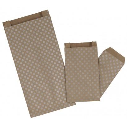 Sobres de papel TOPOS plata