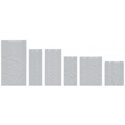 Sobres de papel celulosa blanco americanos con fuelle