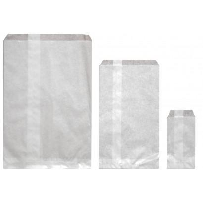 Sobres de papel celulosa blanco americanos sin fuelle
