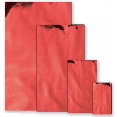 Sobres metalizados brillo rojo