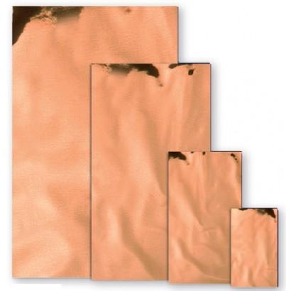 Sobres metalizados brillo cobre