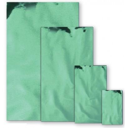 Sobres metalizados brillo verde