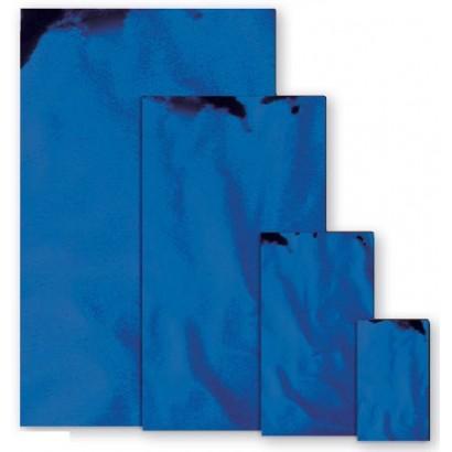 Sobres metalizados brillo azul