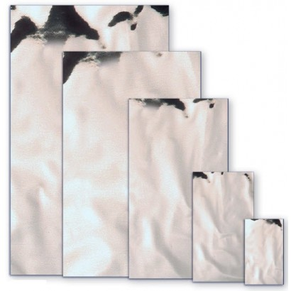 Sobres metalizados brillo plata