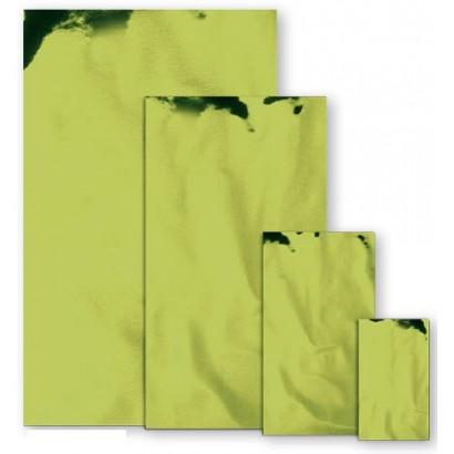 Sobres metalizados mate verde pistacho