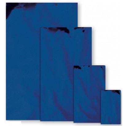 Sobres metalizados mate azul