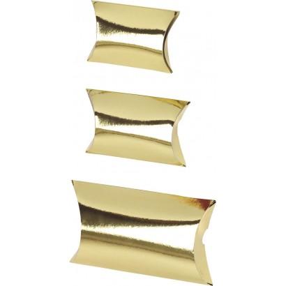 Estuches de cartón CLIP DELUXE oro