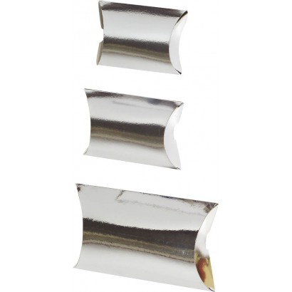 Estuches de cartón CLIP DELUXE plata