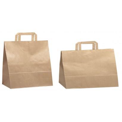 Bolsas de papel hawana linea pasteleria asa plana