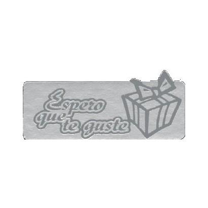 """Etiquetas adhesivas """"Espero y deseo que te guste"""" S3-740"""