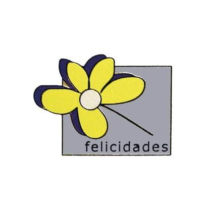 "Etiquetas adhesivas ""Felicidades"" SET-010"
