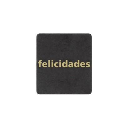 "Etiquetas adhesivas ""Felicidades"" SET-013"