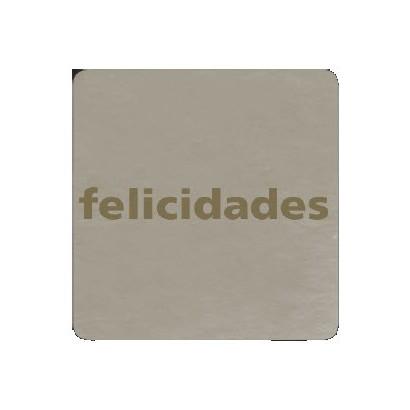 "Etiquetas adhesivas ""Felicidades"" SET-014"