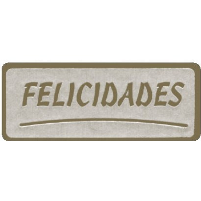 "Etiquetas adhesivas ""Felicidades"" SET-016"