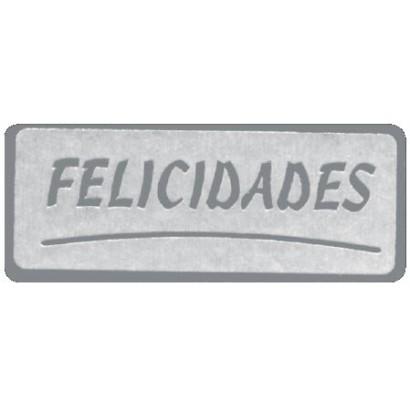 "Etiquetas adhesivas ""Felicidades"" SET-035"