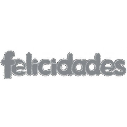 "Etiquetas adhesivas ""Felicidades"" SET-805"