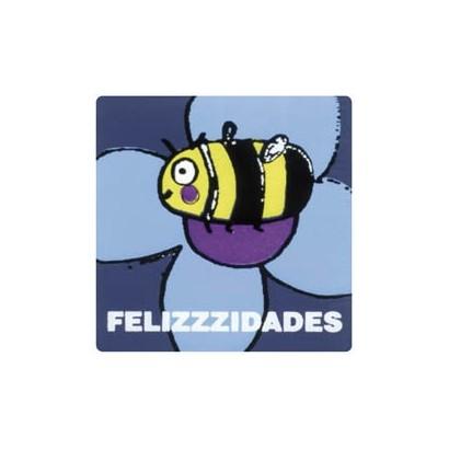 "Etiquetas adhesivas ""Felicidades"" SET-1101"