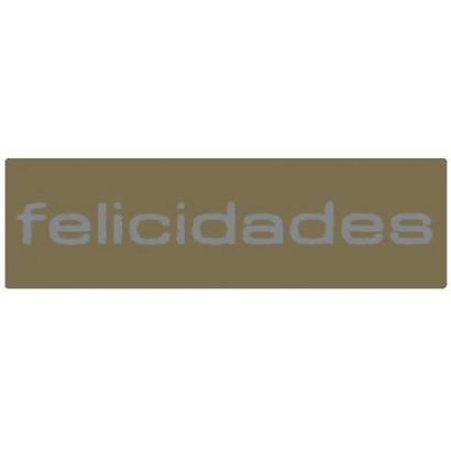 "Etiquetas adhesivas ""Felicidades"" SET-1124"