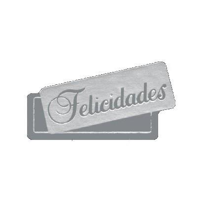 """Etiquetas adhesivas """"Felicidades"""" S3-746"""