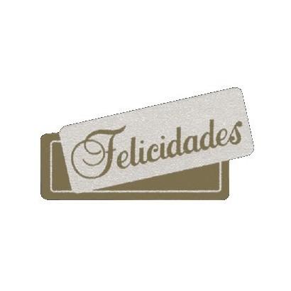 """Etiquetas adhesivas """"Felicidades"""" S3-201"""
