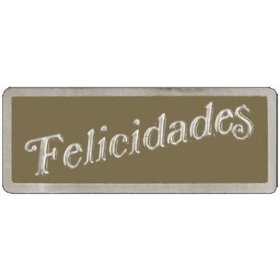 """Etiquetas adhesivas """"Felicidades"""" S3-204"""