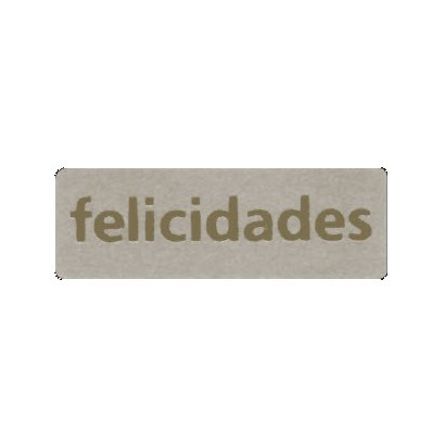 "Etiquetas adhesivas ""Felicidades"" SET-1306"