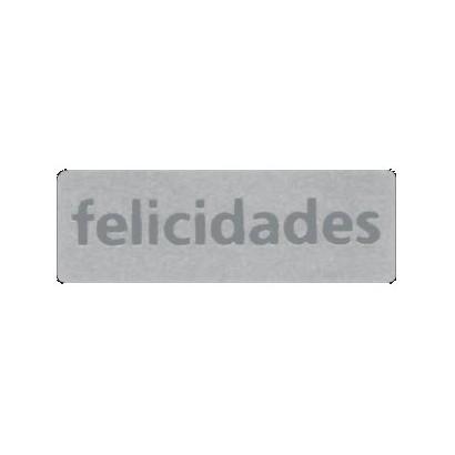 "Etiquetas adhesivas ""Felicidades"" SET-1307"