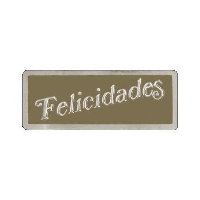 """Etiquetas adhesivas """"Felicidades"""" S3-205"""