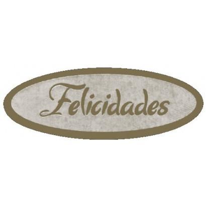 """Etiquetas adhesivas """"Felicidades"""" S3-241"""