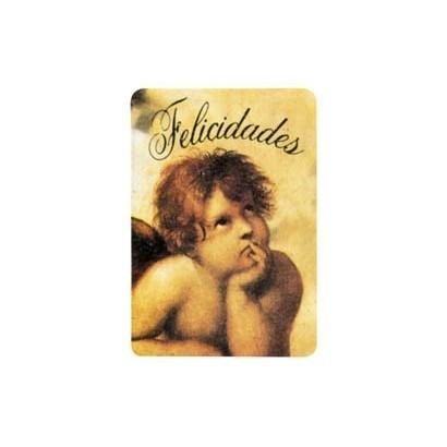 """Etiquetas adhesivas """"Felicidades"""" S3-385"""