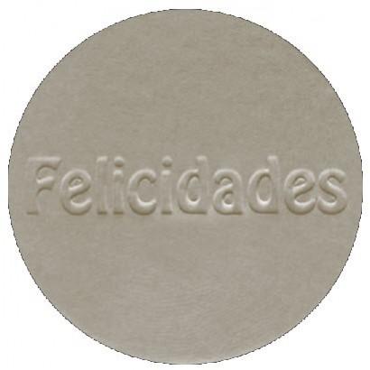 """Etiquetas adhesivas """"Felicidades"""" S3-707"""