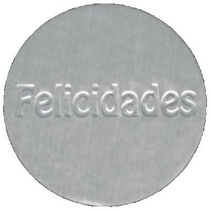 """Etiquetas adhesivas """"Felicidades"""" S3-708"""
