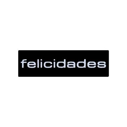 "Etiquetas adhesivas ""Felicidades"" SET-1123"