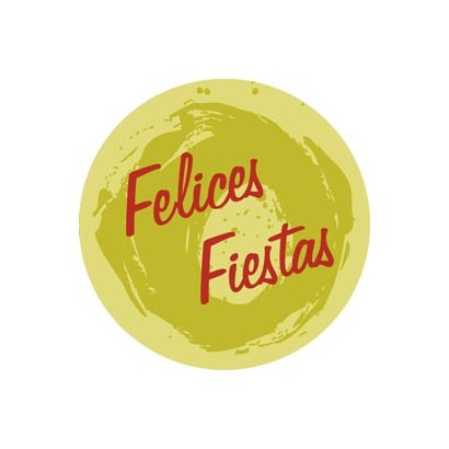 """Etiquetas adhesivas """"Navidad y Felices Fiestas"""" S31-011"""
