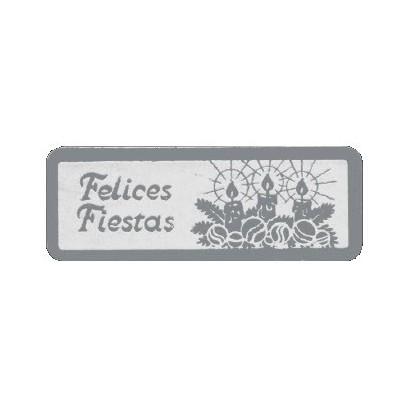 """Etiquetas adhesivas """"Navidad y Felices Fiestas"""" S3-744"""