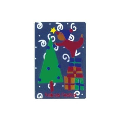 """Etiquetas adhesivas """"Navidad y Felices Fiestas"""" SET-150"""
