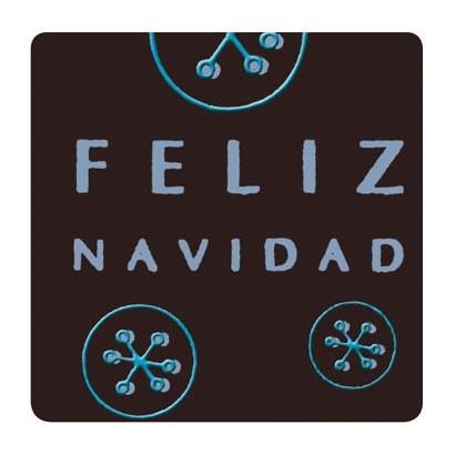 """Etiquetas adhesivas """"Navidad y Felices Fiestas"""" SET-1151"""