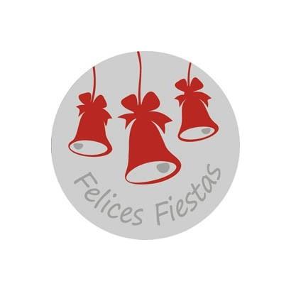 """Etiquetas adhesivas """"Navidad y Felices Fiestas"""" S31-012"""