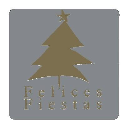 """Etiquetas adhesivas """"Navidad y Felices Fiestas"""" S31-023"""