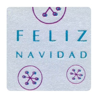 """Etiquetas adhesivas """"Navidad y Felices Fiestas"""" SET-1152"""