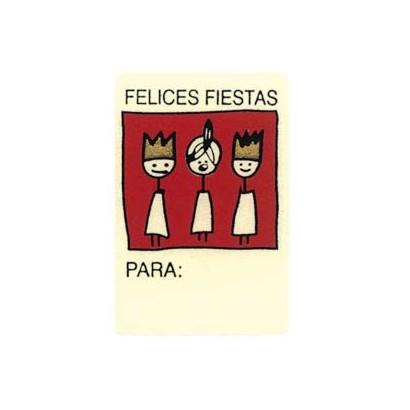"""Etiquetas adhesivas """"Navidad y Felices Fiestas"""" SET-038"""